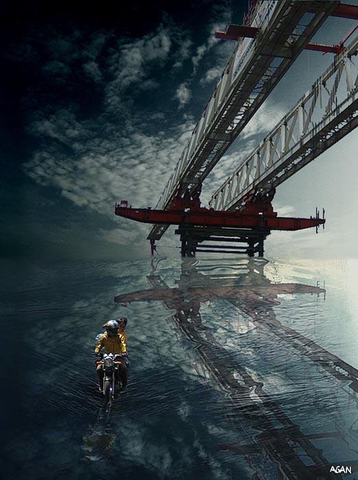 Under The Bridge 2 by TOYIB