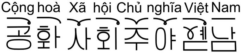 10-05-23 - Koreanoid Vietnamese Alphabet - Sample  by Istana-Hutan