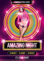 Amazing Night Party Flyer by mantushetty