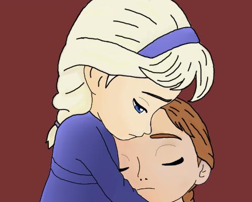Anna And Elsa As Kids By Kakeruhayashi On Deviantart