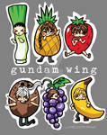Gundam Wing Boys R FRUITS