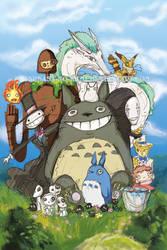Ghibli Time by Tsubasa-No-Kami
