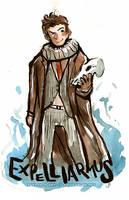 Doctor Who Expelliarmus 10th Doctor by Tsubasa-No-Kami