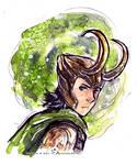 Loki Watercolor