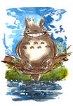 My Neighbor Totoro Watercolor