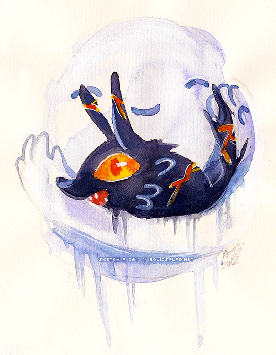Fire Wolf + Snow Golem by Tsubasa-No-Kami