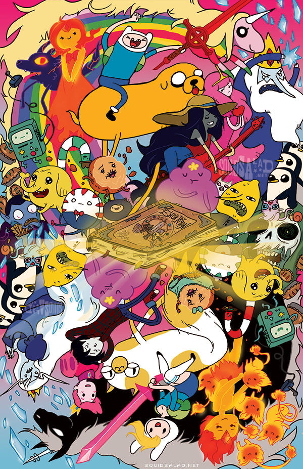 Adventure Time Reversible Cover