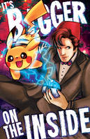 Doctor Who vs Pokemon Bigger on the Inside by Tsubasa-No-Kami