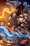 The Legend of Korra Team Avatar