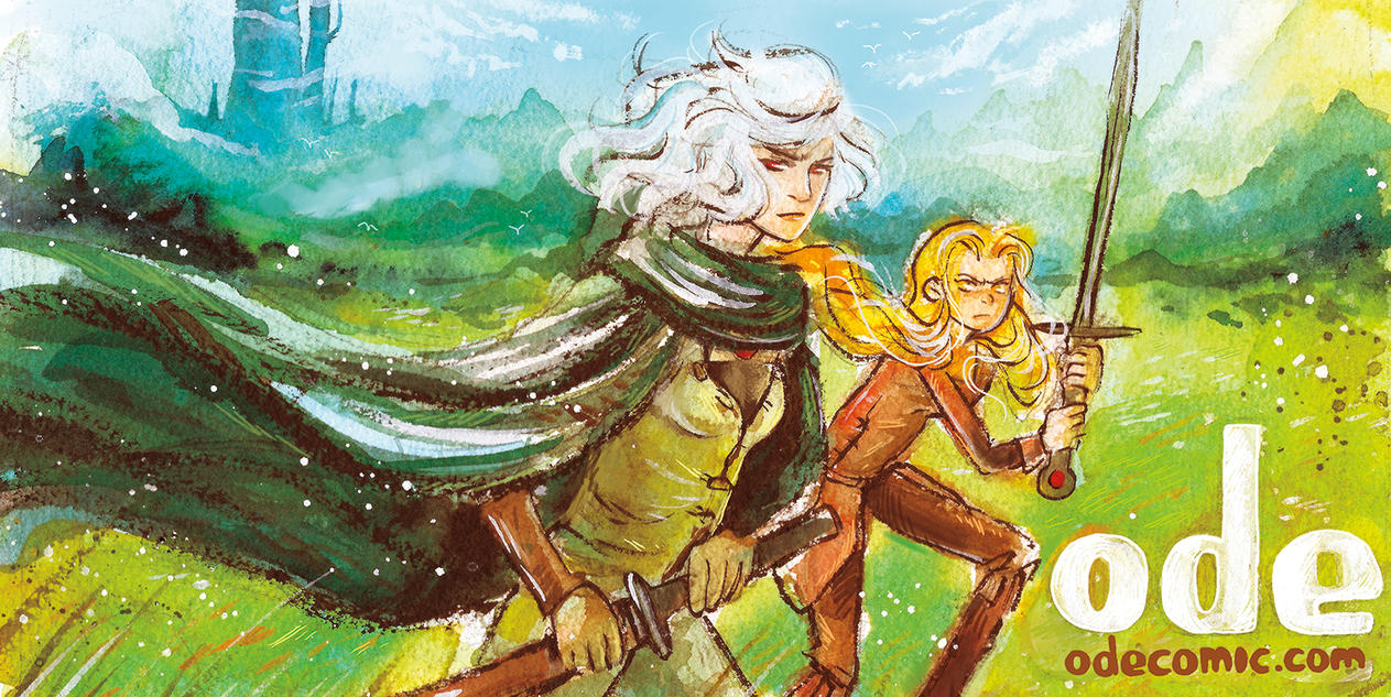 Ode Lady Knights BANNER by Tsubasa-No-Kami