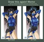 Kitana Axe03 Draw this again