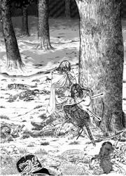 The fall of Boromir
