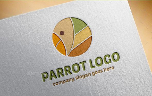 Parrot Logo Template by petyaivanova