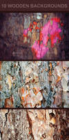 10 Wooden Backgrounds