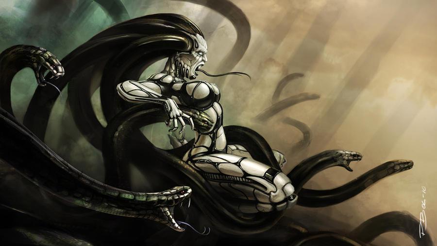 Medusa by UptownPete