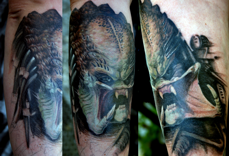 Predator Tattoo by UptownPete