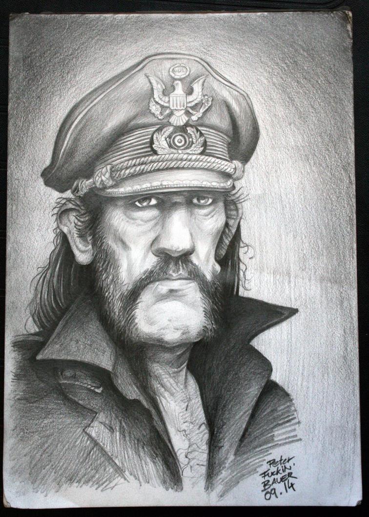 Caricature of Lemmy from Motorhead by UptownPete