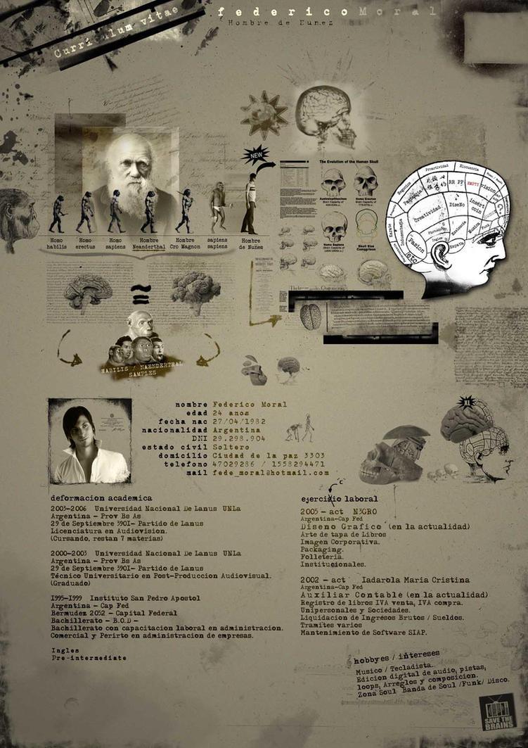 Curriculum Vitae - CV by fede-moral on DeviantArt