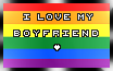  I Love My Boyfriend.Homo Stamp by o-GunCat-o