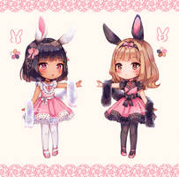 [Adopt] Spring Bunnies - Closed by AnaMGomes