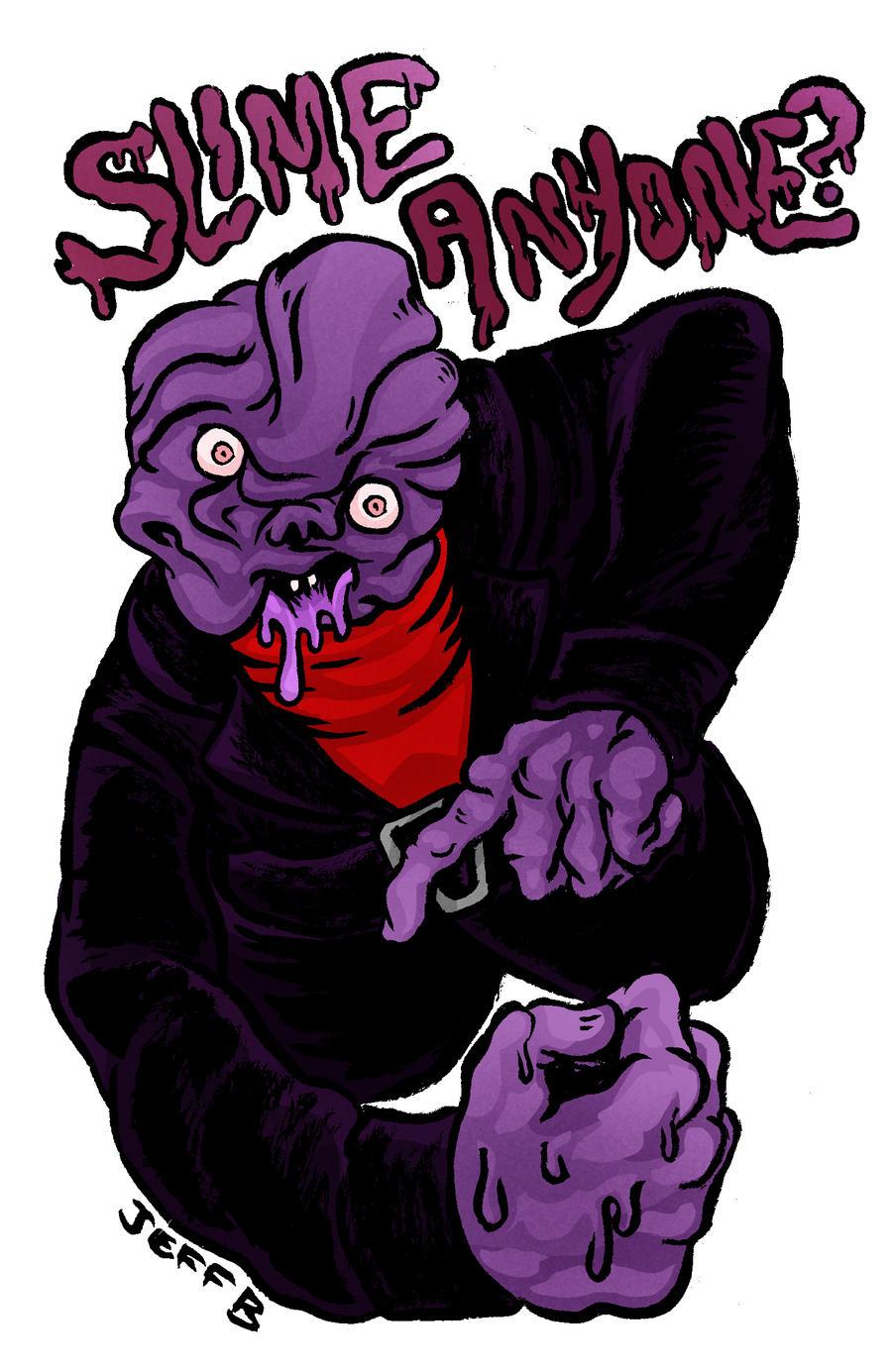 ghostwriter slime monster