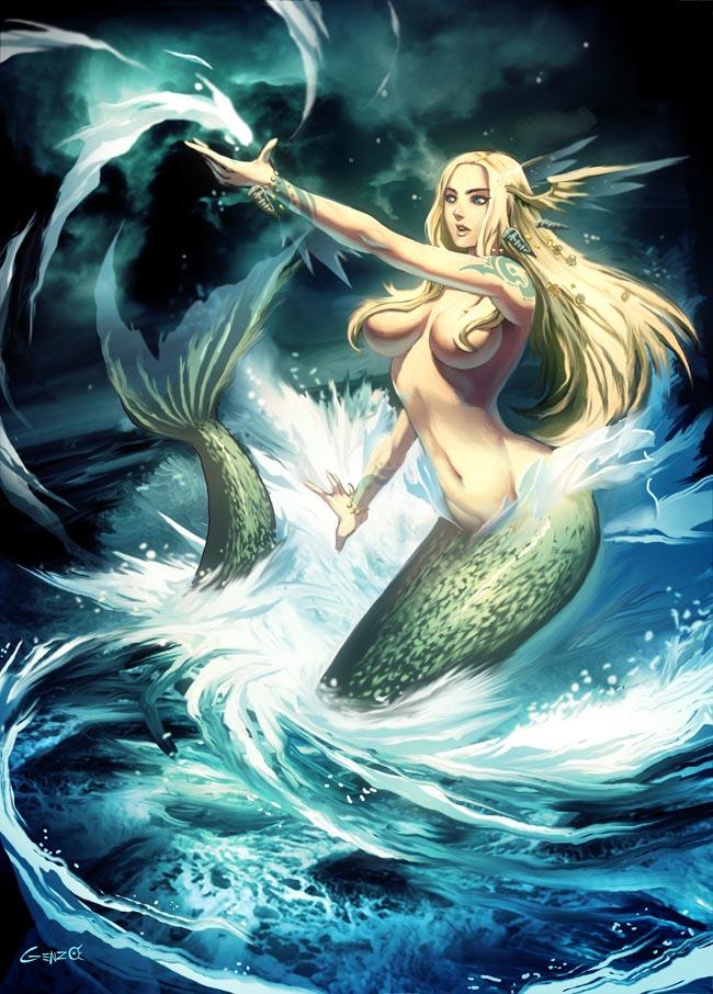 Mermaid by GENZOMAN