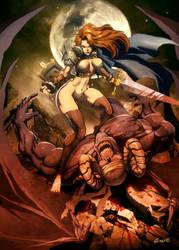 demon hunting by GENZOMAN