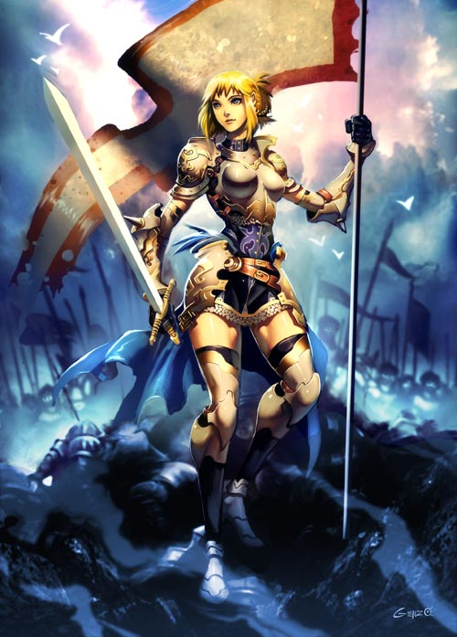 Joan of Arc by GENZOMAN