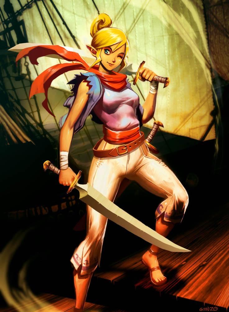 The legend of Zelda - Tetra