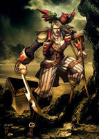 Long John Silver by GENZOMAN