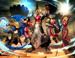 World of warcraft guild by GENZOMAN