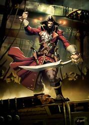 Blackbeard by GENZOMAN