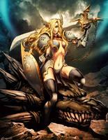 War gods: Dragon Slayer by GENZOMAN