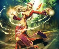Warcraft - Erindae Firestrider
