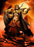 Ramses II the Pharaoh by GENZOMAN
