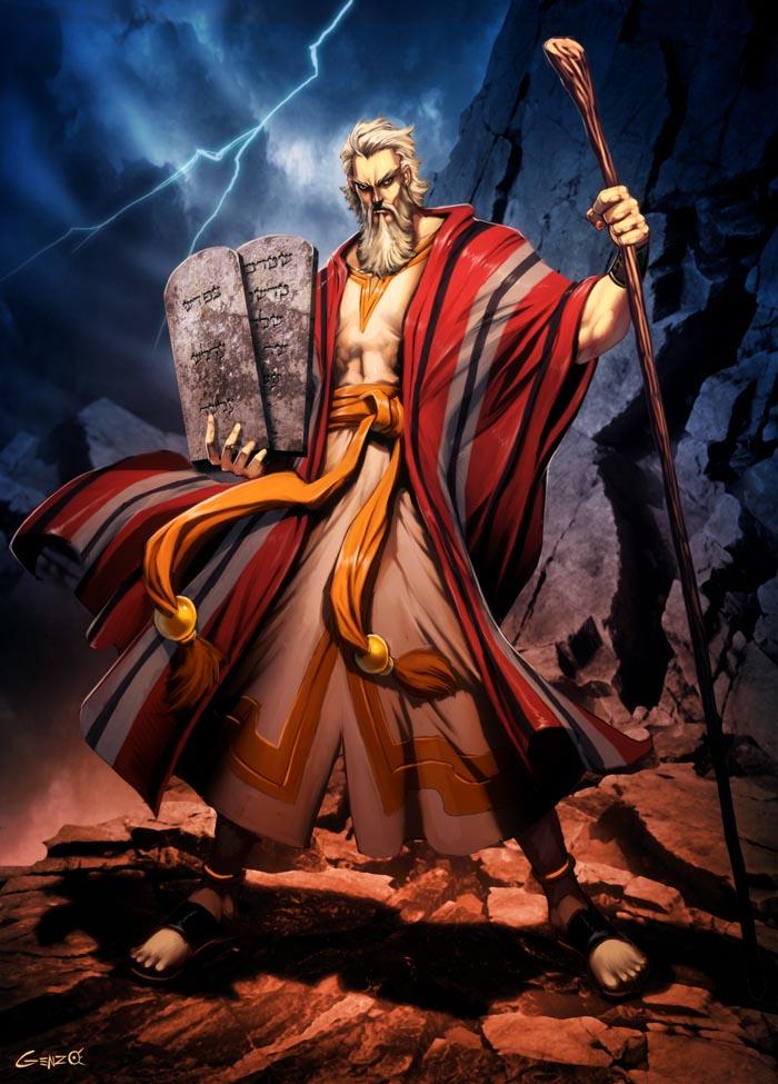 Thumb Dibujo: Si Moisés fuera un Superhéroe