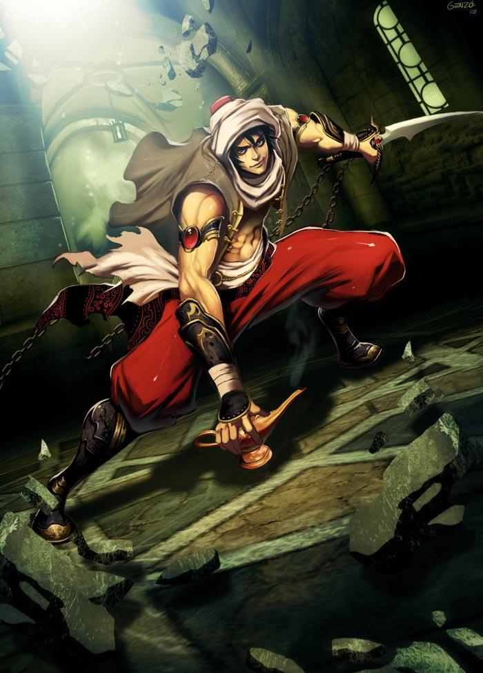 Aladdin by GENZOMAN