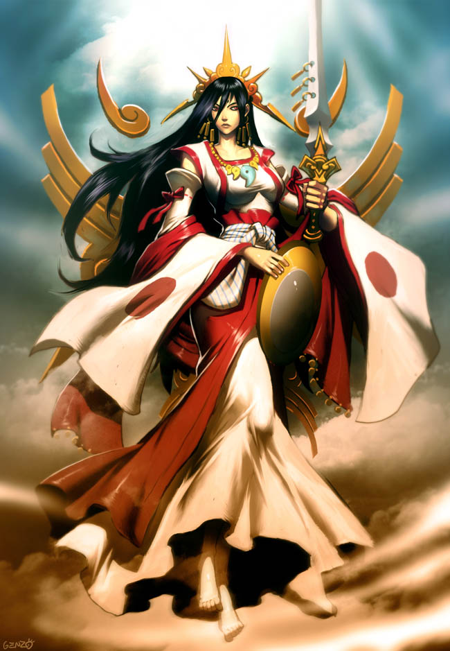 Amaterasu by GENZOMAN on DeviantArt