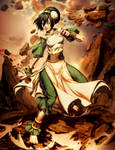 Avatar - Toph by GENZOMAN