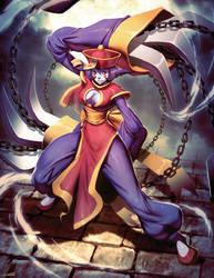Hsien-ko Darkstalkers tribute by GENZOMAN