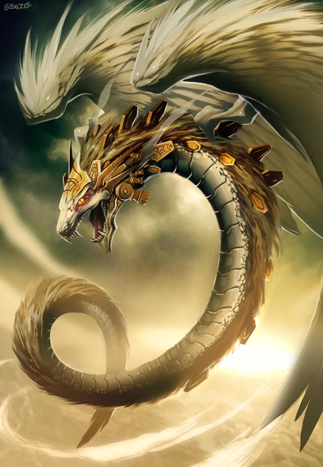 dragon illustratipon