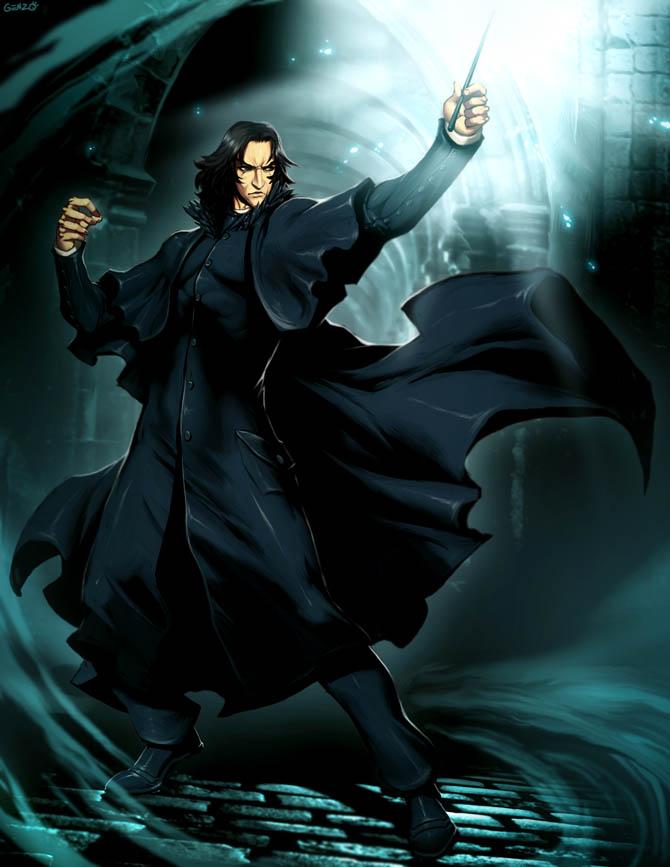 Harry Potter Severus Snape By Genzoman On Deviantart