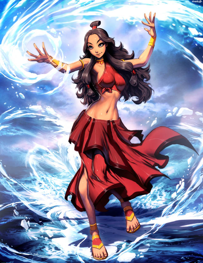 Avatar - Katara Fire nation by GENZOMAN