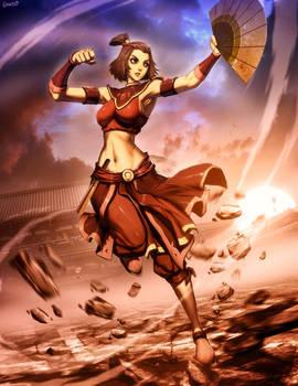 Avatar Suki - Fire nation