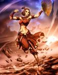 Avatar Suki - Fire nation by GENZOMAN