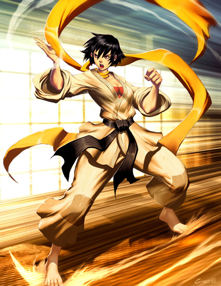 Street Fighter - Makoto by GENZOMAN