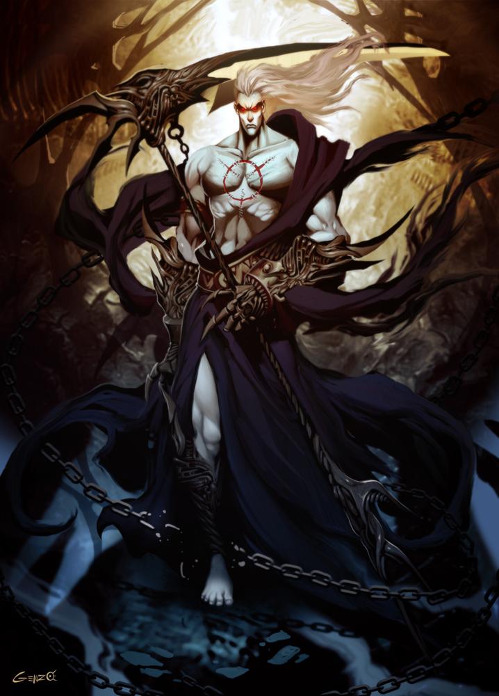Hades by GENZOMAN on DeviantArt