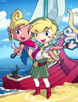 Wind waker - Tetra and Link