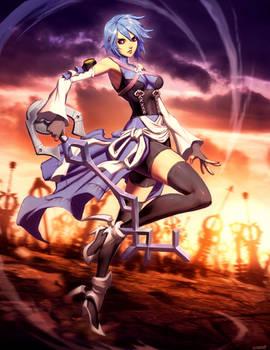 Aqua - Kingdom Hearts by GENZOMAN