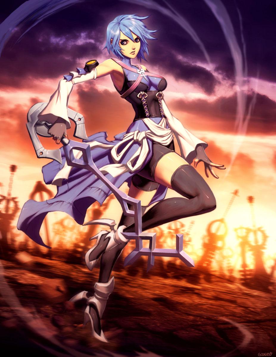Aqua - Kingdom Hearts